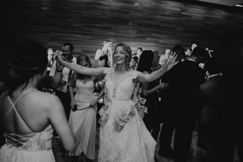 wedding money dance