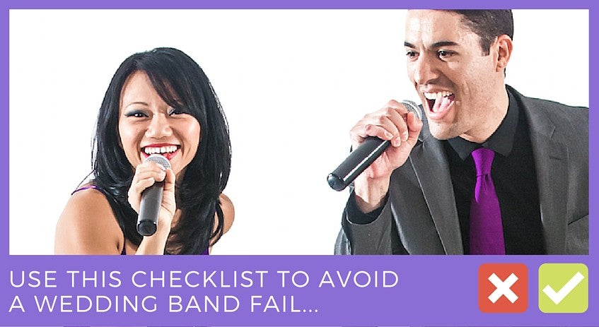 How to book a band for your wedding, music bands for weddings