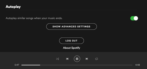 Spotify advanced settings - wedding reception songs playlist tips