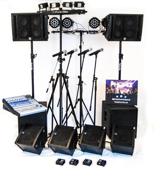 sound system and lighting rental with technician vancouver