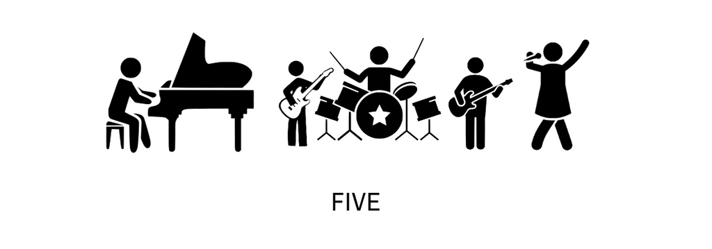 wedding dance party band - phonix 5 piece band