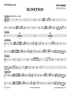 Ignited (Sheet Music) - Horn and Rhythm Parts