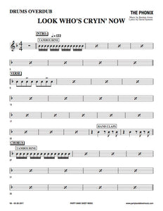 Look Who's Cryin' Now (Sheet Music) - Horn and Rhythm Parts