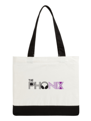 Phonix Classic Cotton Tote Bag Two-Tone Deluxe