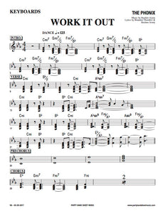 Work It Out (Sheet Music) - Horn and Rhythm Parts