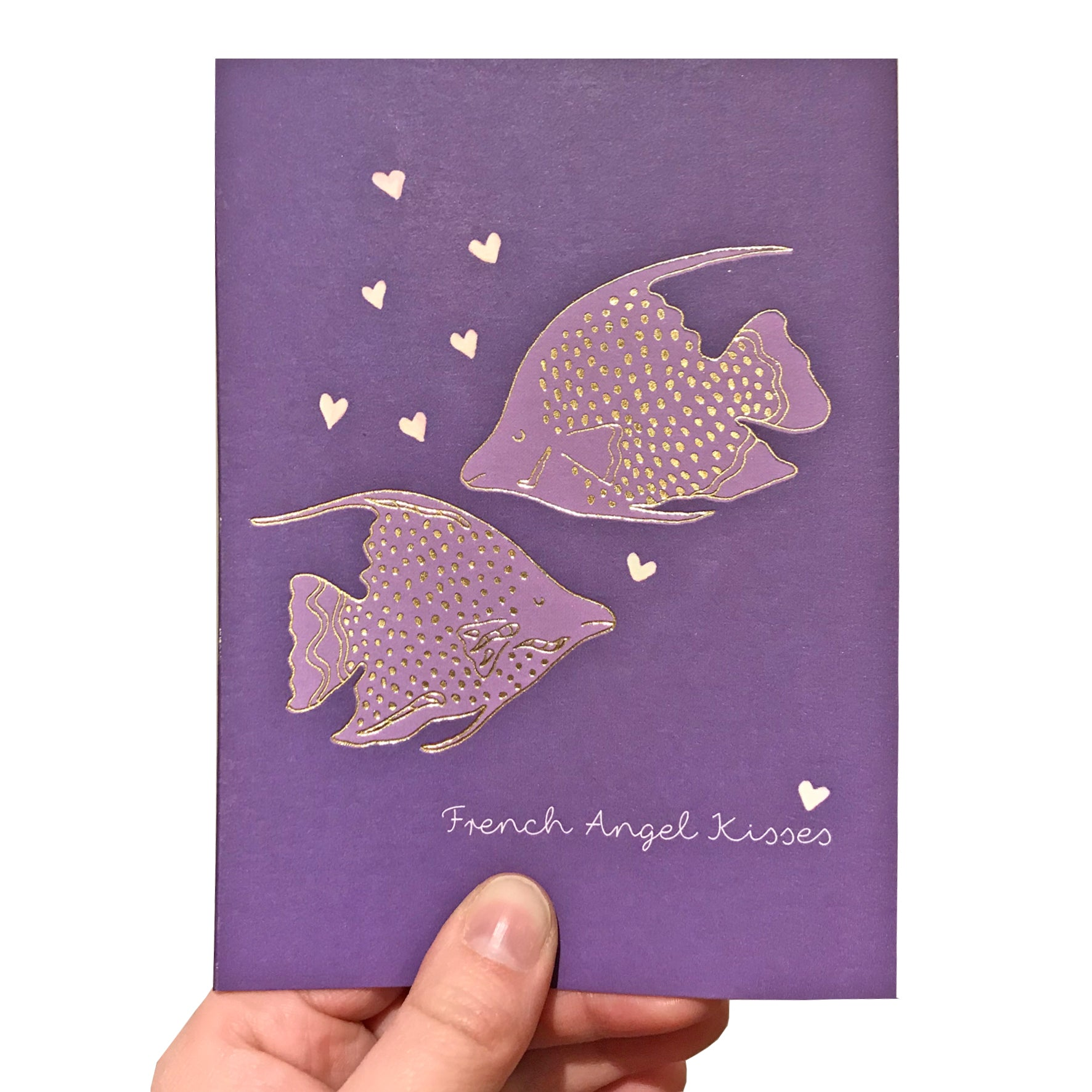Angel Fish Valentine's Card