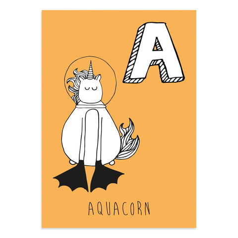 Aquacorn Postcard