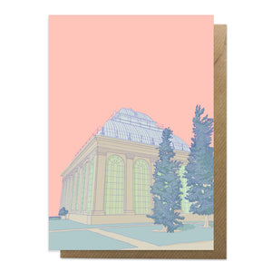 Botanical Gardens Edinburgh Card