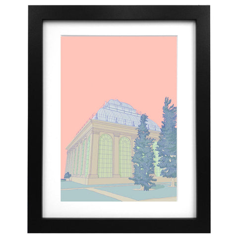 Botanical Gardens Edinburgh Print