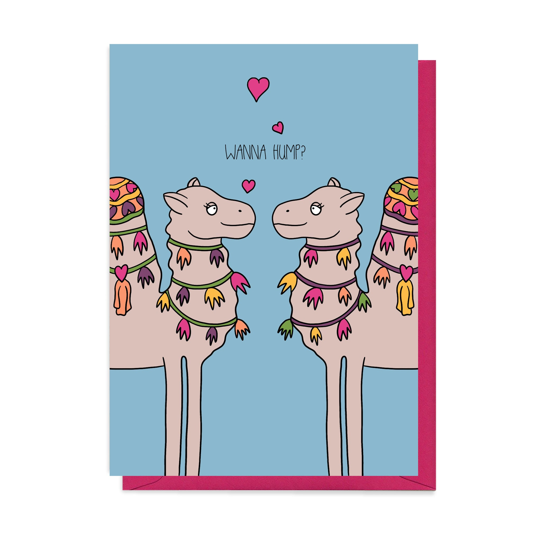 Camel Valentine's Card