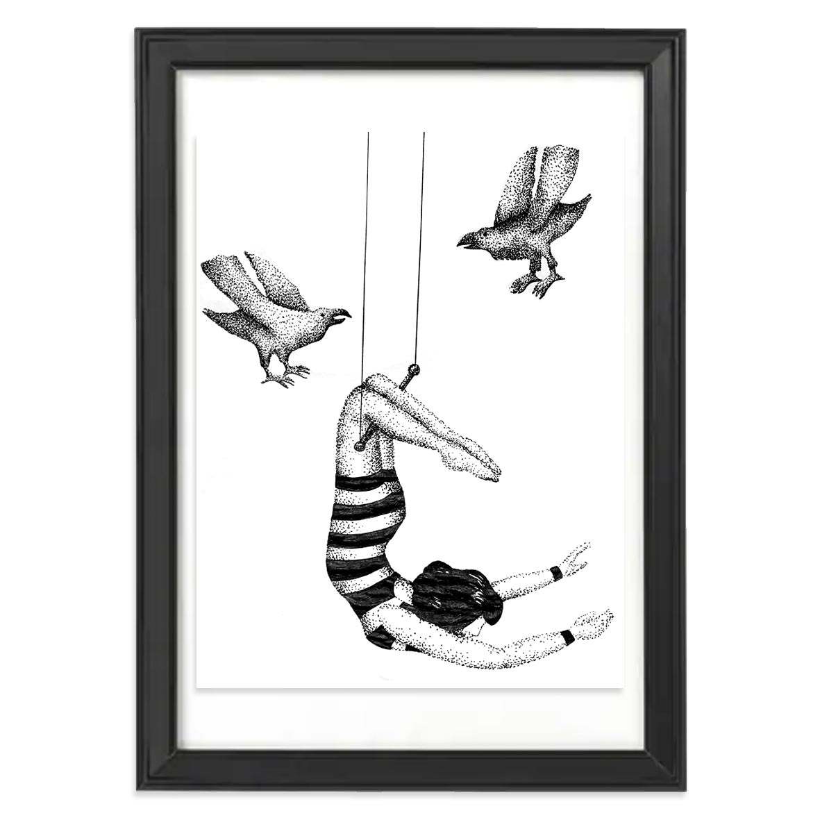 Original counting crows illustration