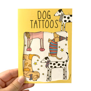 Fancy Dog Transfer Tattoos