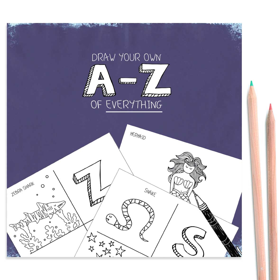 Cover of draw your own alphabet book