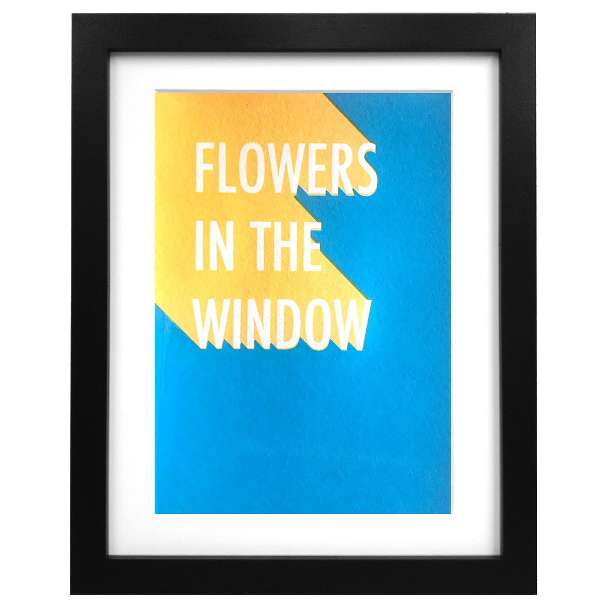 Flowers in the Window Screen Print