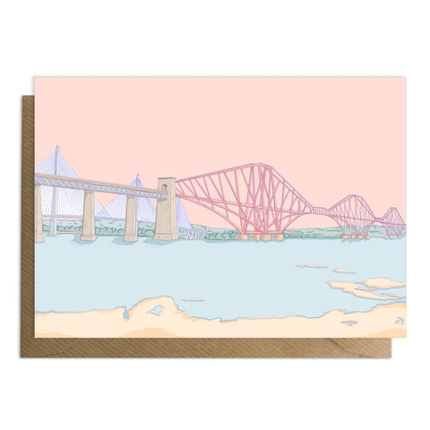 Forth Rail Bridge Card