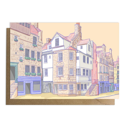 John Knox House Royal Mile Card