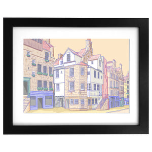 John Knox House, Royal Mile Edinburgh Print
