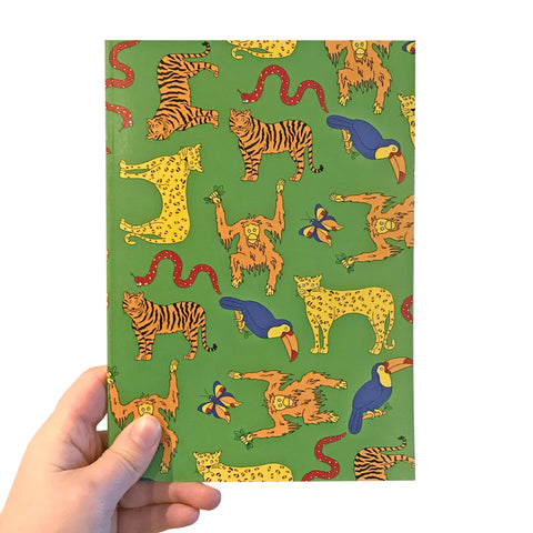 Jungle A5 Notebook