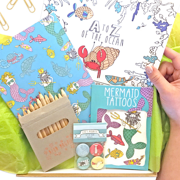 Mermaid Gift Box - Mermaid Gifts