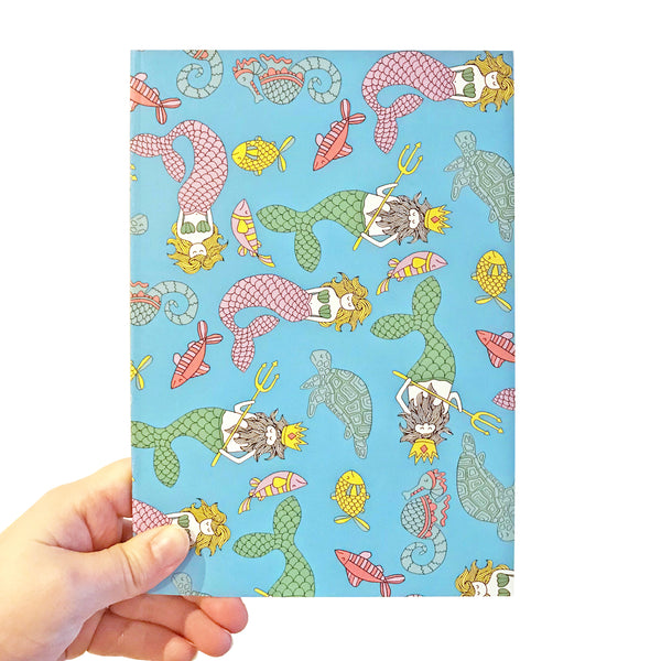 Mermaid A5 Notebook