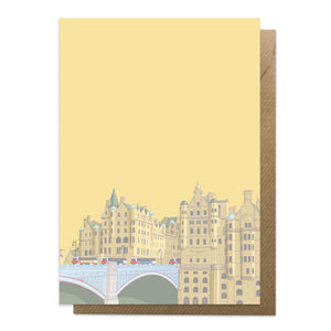 North Bridge Edinburgh Card