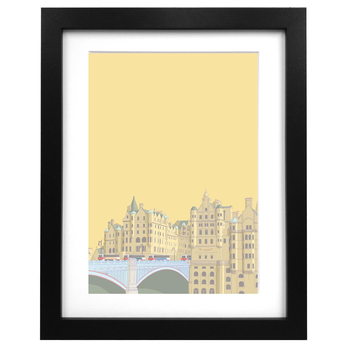 North Bridge Art Print