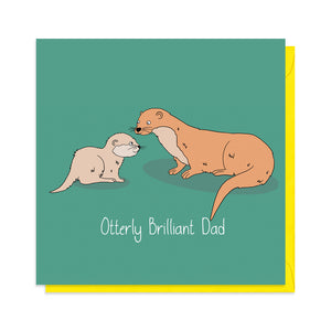 Otter Father's Day Card
