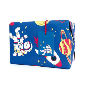 Space Wrapping Paper and Gift Tags