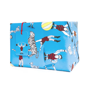 Circus Wrapping Paper and Gift Tags