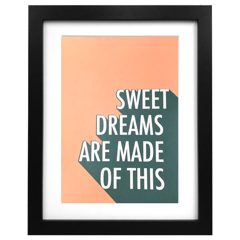 Sweet Dreams Screen Print