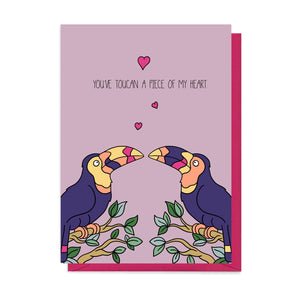Toucan Valentine's Card