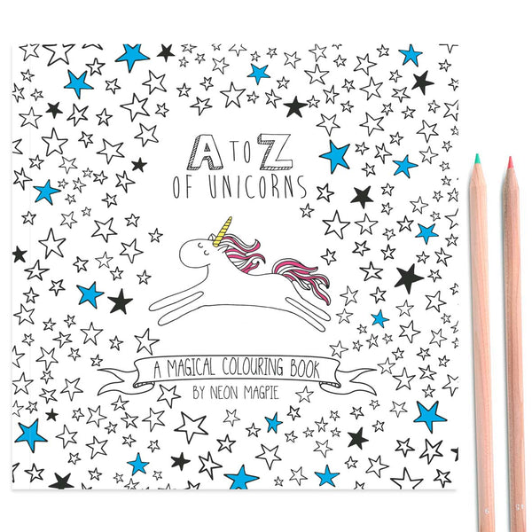 Cover of Unicorn Colouring Book