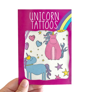 Unicorn Transfer Tattoos