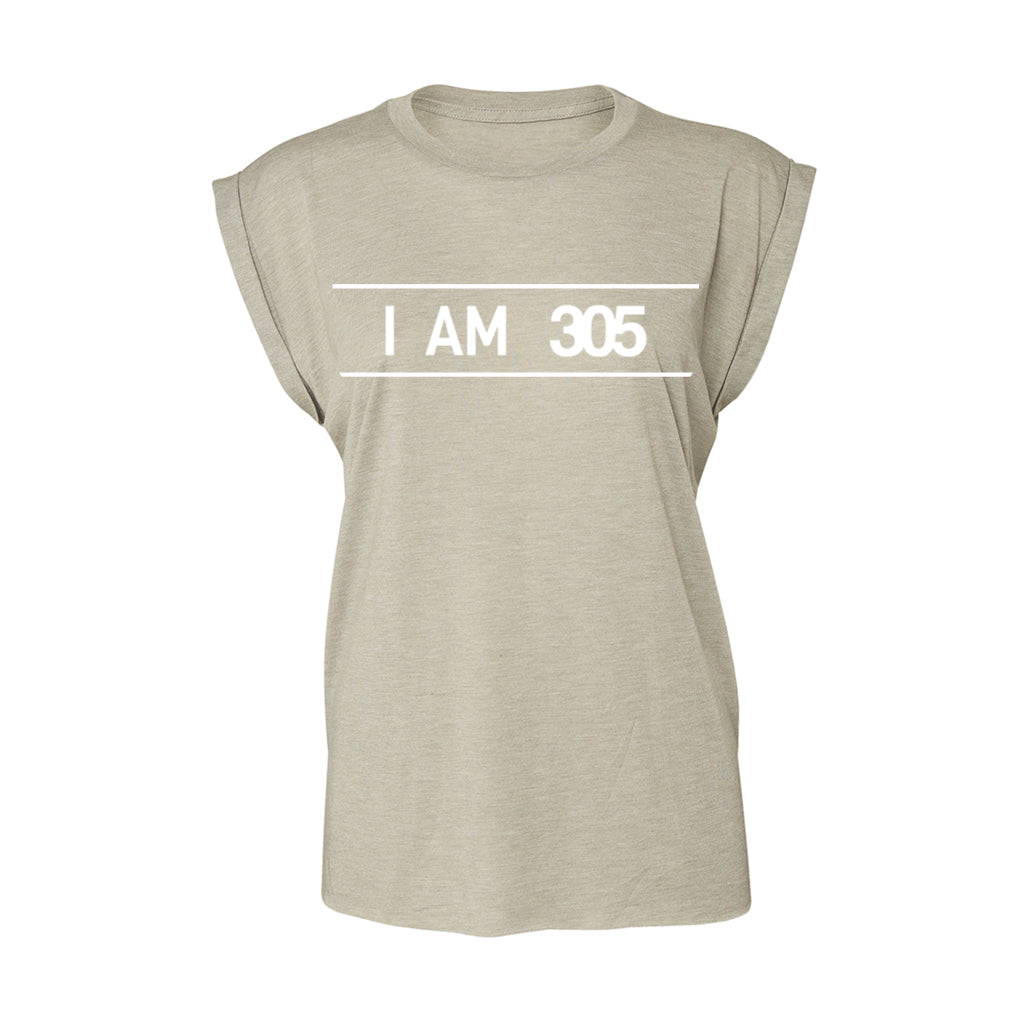 I AM 305 PURE Flowy Cuff T