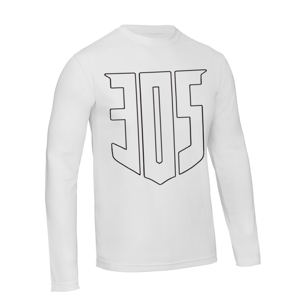 Shield Icon ACTION Long Sleeve T