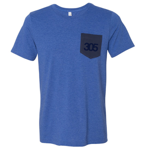 SQUASH 305 Pocket Classic Mens T
