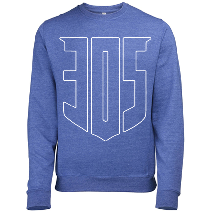 Shield Icon HEATHER Sweatshirt