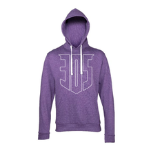 305 Large Shield Heather Hoody