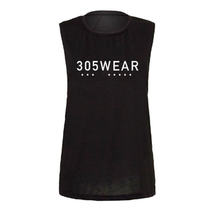 305WEAR Womens Scoop Muscle Tshirt