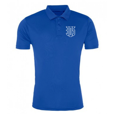 Become An Athlete Mens Performance Polo