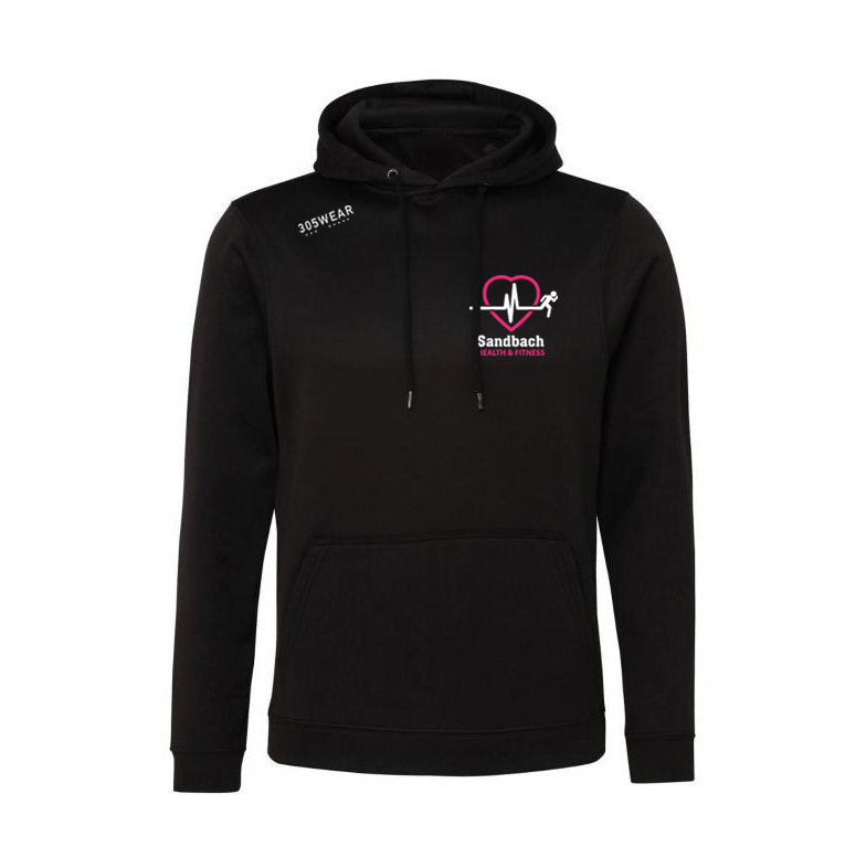 Sandbach Health & Fitness Mens Performance Hoody