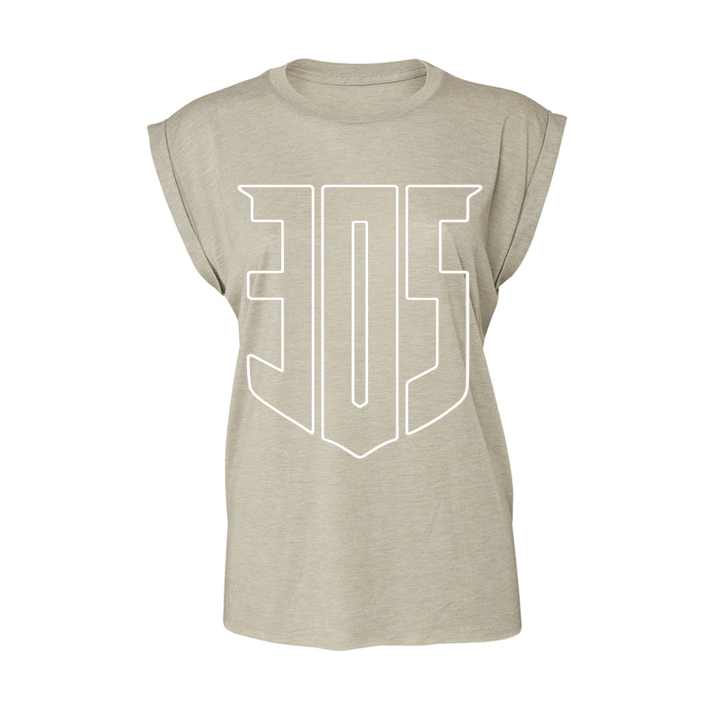 Shield Icon PURE Flowy Cuff T