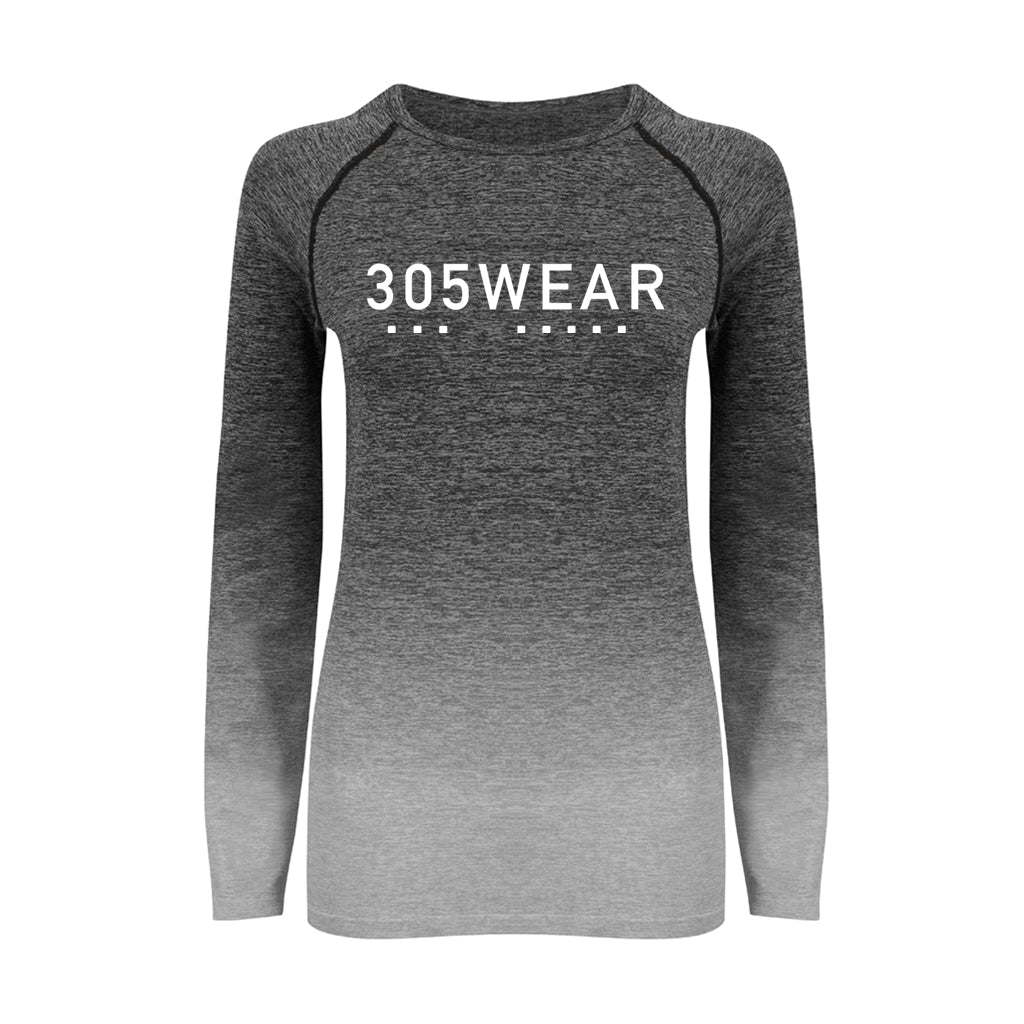 Wordmark Icon FADE Seamless Long Sleeve