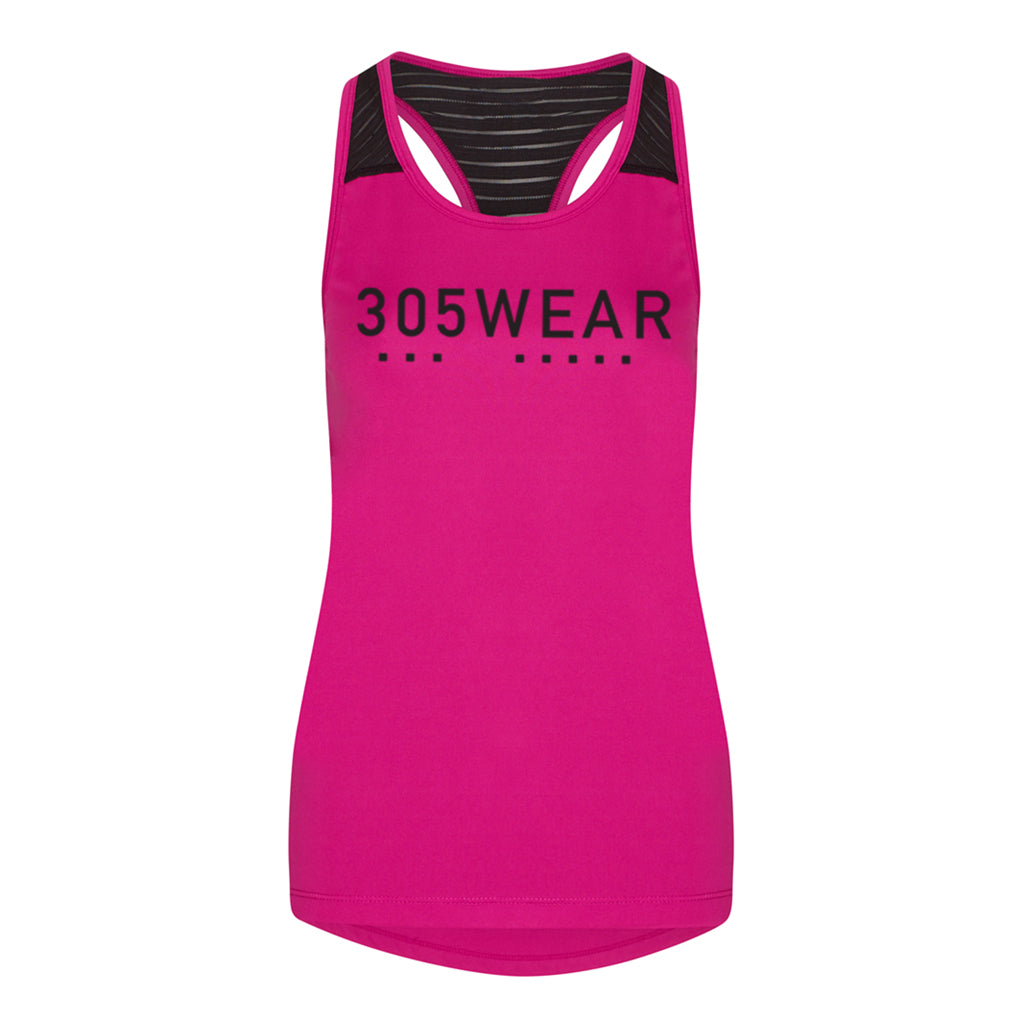Wordmark Icon PERFORMANCE Workout Vest