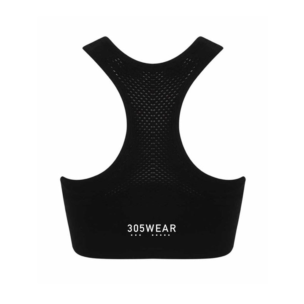 Wordmark FADE Seamless Sports Bra
