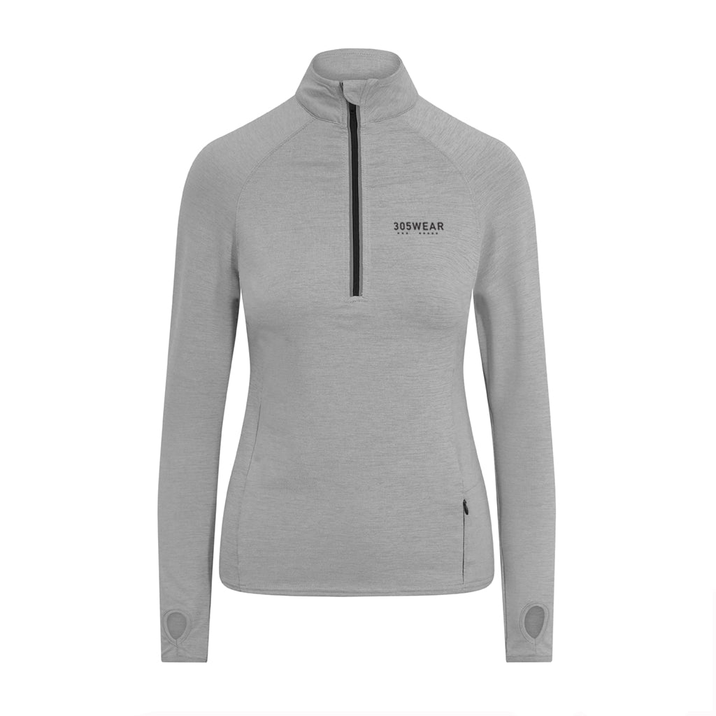 Wordmark PERFORMANCE Half-Zip Top
