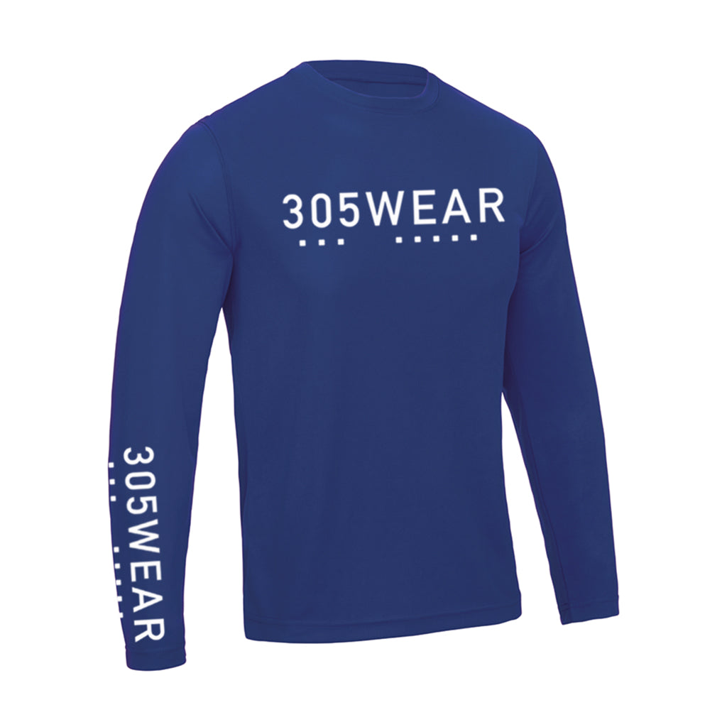 Wordmark Icon ACTION Long Sleeve T