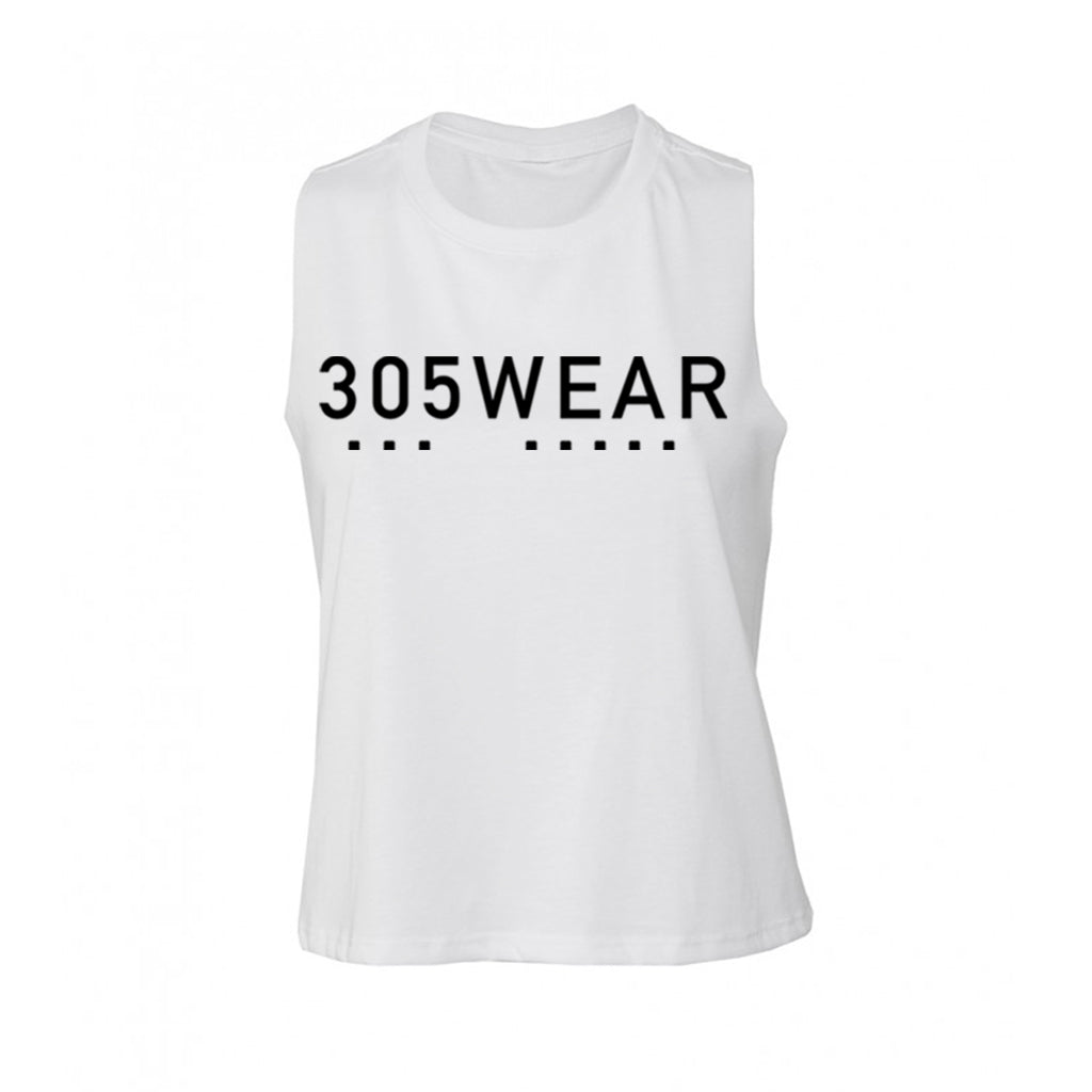 Wordmark Icon PURE Cropped Tank