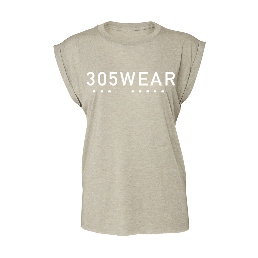 Wordmark Icon PURE Flowy Cuff T