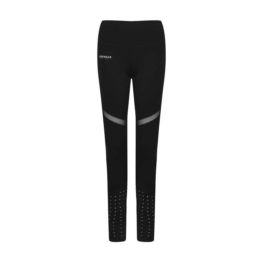 Wordmark PERFORMANCE Panelled Mesh Leggings